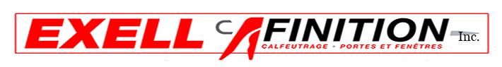 Logo - Exell Finition inc. - Calfeutrage Rive-Sud - Spécialiste en calfeutrage